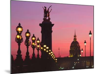 Pont Aleandre, Paris-Brian Lawrence-Mounted Photographic Print