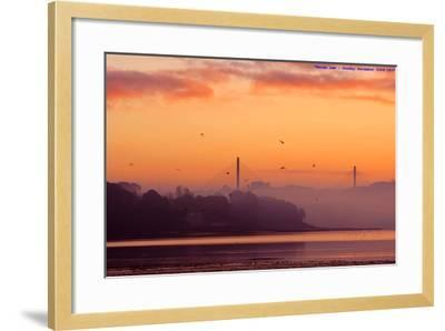 Sunrise-All images taken by Keven Law of London, England.-Framed Photographic Print