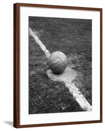 Kick Off-George Freston-Framed Photographic Print