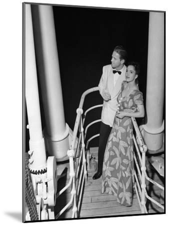 Couple in Evening Wear-George Marks-Mounted Photographic Print
