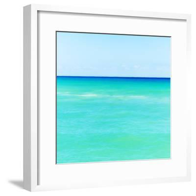 Mexico, Yucatan, Seascape with Blue Sky-Tetra Images-Framed Photographic Print