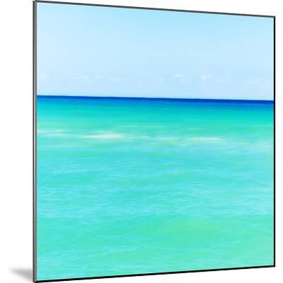 Mexico, Yucatan, Seascape with Blue Sky-Tetra Images-Mounted Photographic Print