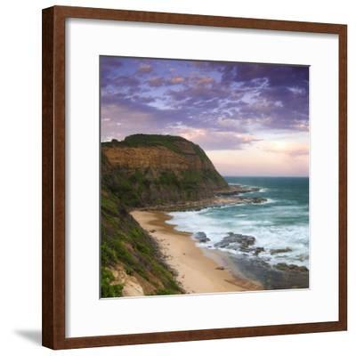 Bar Beach Headland-Image-Framed Photographic Print