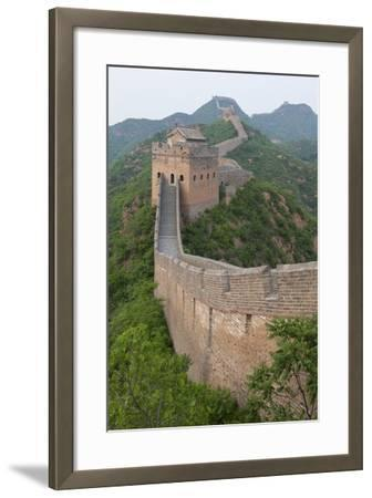 Great Wall, China-Uschools University Images-Framed Photographic Print