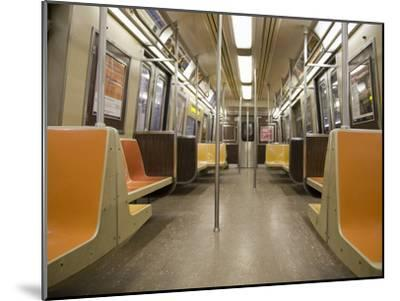 Inside a Subway Train, NYC-Pascal Preti-Mounted Photographic Print