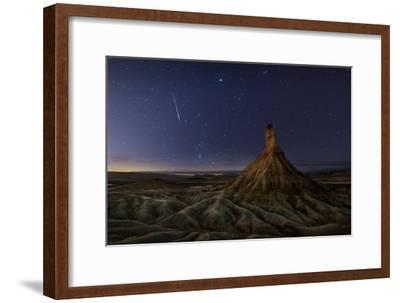Castil after Sunset-Inigo Cia-Framed Photographic Print