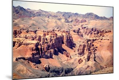 Charyn Canyon-taken by Richard Radford-Mounted Photographic Print
