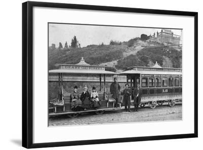 Cable Street Car-Taber Photo San Francisco-Framed Photographic Print