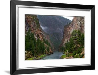 Into the Canyon-Hansrico Photography-Framed Photographic Print