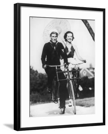 Bike Buddies-FPG-Framed Photographic Print