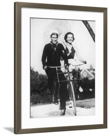Bike Buddies-FPG-Framed Photographic Print