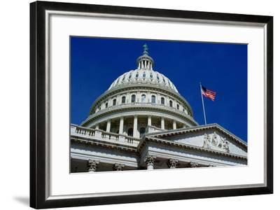 Capitol Building, Washington, USA-Tim Graham-Framed Photographic Print