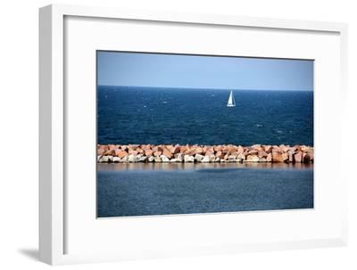 Lake Michigan-Luiz Felipe Castro-Framed Photographic Print