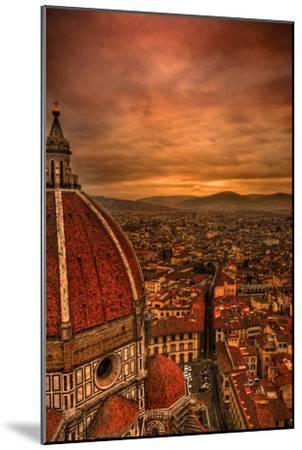 Florence Duomo at Sunset-McDonald P. Mirabile-Mounted Photographic Print
