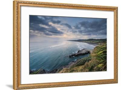 North View Muriwai-Nick Twyford Photography-Framed Photographic Print
