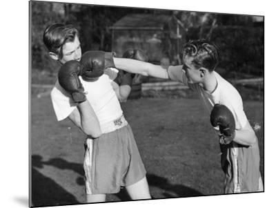 Boxer Twins-Greated-Mounted Photographic Print
