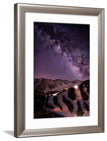Starlight Mountain Ski Hill-Mike Berenson / Colorado Captures-Framed Photographic Print