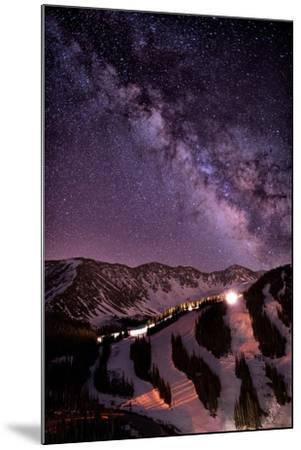 Starlight Mountain Ski Hill-Mike Berenson / Colorado Captures-Mounted Photographic Print