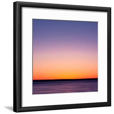 Setting Softly-John A Gessner Photography-Framed Photographic Print