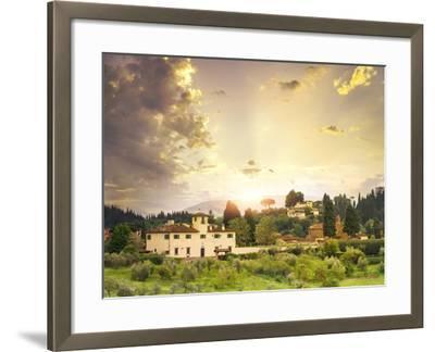 Italian Landscape-Dmytro Tokar-Framed Photographic Print