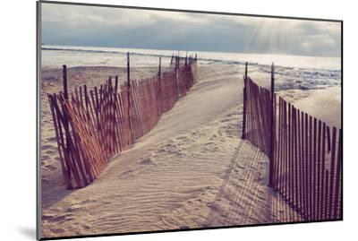 Lake Michigan Beach-Trina Dopp Photography-Mounted Photographic Print