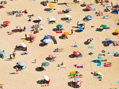 Portugal Beach-David Lopes-Framed Photographic Print