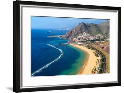 Playa De Las Teresitas, Tenerife, Canary Islands-Chris Hepburn-Framed Photographic Print