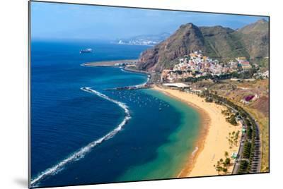 Playa De Las Teresitas, Tenerife, Canary Islands-Chris Hepburn-Mounted Photographic Print