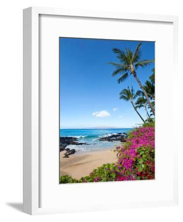 Makena Cove-M Swiet Productions-Framed Photographic Print