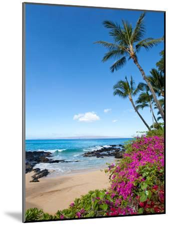 Makena Cove-M Swiet Productions-Mounted Photographic Print