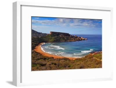 Red Sand-Karl Borg-Framed Photographic Print
