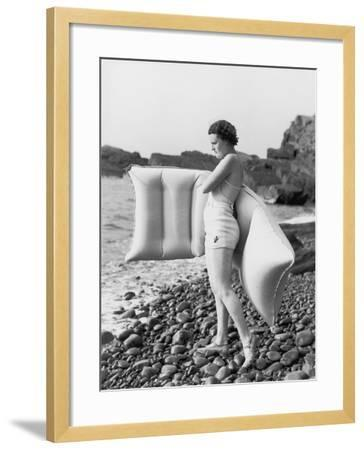 Hesitant Swimmer-Chaloner Woods-Framed Photographic Print