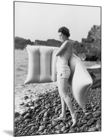Hesitant Swimmer-Chaloner Woods-Mounted Photographic Print