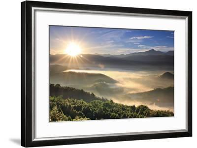 First Light of Day-1000-Framed Photographic Print