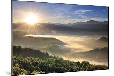 First Light of Day-1000-Mounted Photographic Print