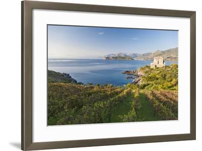 Carpino Bay, Scalea, Calabria, Italy-Peter Adams-Framed Photographic Print