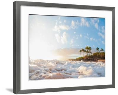 Sunset at Poolenapena-M Swiet Productions-Framed Photographic Print