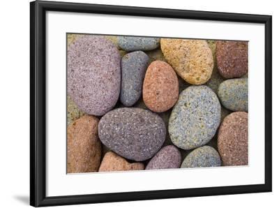 Beach Stone Collection-Hiroyuki Uchiyama-Framed Photographic Print