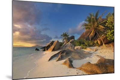 Tropical Island La Digue-Cornelia Doerr-Mounted Photographic Print