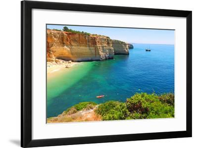 Praia Do Benagil-Valter Jacinto-Framed Photographic Print