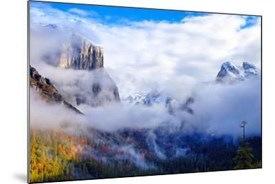 Dreamy Valley, Mist and Fog, El Capitan, Yosemite National Park-Vincent James-Mounted Photographic Print