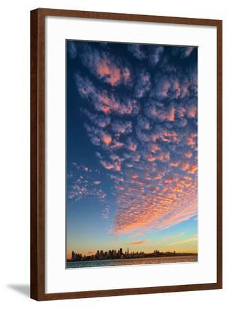 Magical Clouds Over San Francisco - City and Cloud Design, California-Vincent James-Framed Photographic Print
