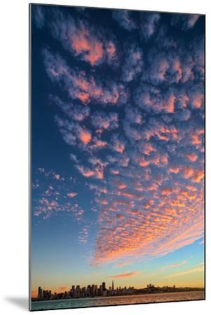 Magical Clouds Over San Francisco - City and Cloud Design, California-Vincent James-Mounted Photographic Print