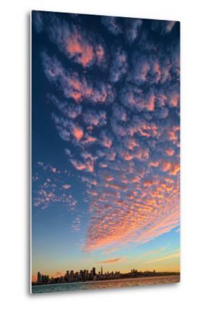 Magical Clouds Over San Francisco - City and Cloud Design, California-Vincent James-Metal Print
