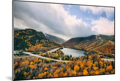 Autumn Lake Scene, White Mountains, New Hampshire-Vincent James-Mounted Photographic Print