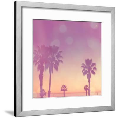 Palm Trees in California-Myan Soffia-Framed Photographic Print