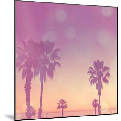 Palm Trees in California-Myan Soffia-Mounted Photographic Print