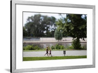 People Playing-Felipe Rodriguez-Framed Photographic Print