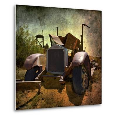 Rusty Old Truck in America-Salvatore Elia-Metal Print