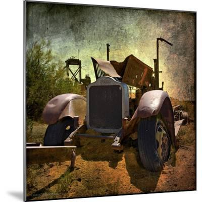 Rusty Old Truck in America-Salvatore Elia-Mounted Photographic Print